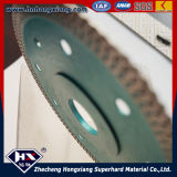 Ceramic Tile/Circular Saw BladeのためのサイクロンMeshターボDiamond Saw Blade