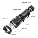 Lampe-torche tactique V 400 de mode hyper du lumen 3 de J5
