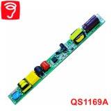 fuente de alimentación sin aislar de la luz del tubo de 12-25W Hpf con EMC QS1169A