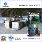 Máquina de reciclaje hidráulica horizontal de la prensa para el plástico/la cartulina