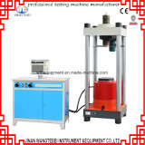Concreto a la compresión Máquina de prueba de fuerza