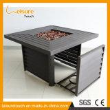 Entfernbare Aquare BBQ-Feuer-Vertiefung-Tisch-Garten-Multifunktionsmöbel im Freien