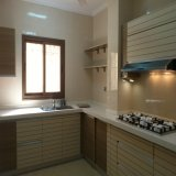 Gabinete de cozinha contemporâneo moderno personalizado alta qualidade