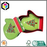 Caixa de presente especial do papel do cartão da forma da cópia de cor para festivais
