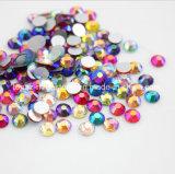 체코 유리 구슬 편평한 뒤 수정같은 스티커 보석 돌 느슨한 모조 다이아몬드 (FB ss12/3.5mm /3A 급료)