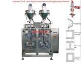 Empaquetadora del polvo dual automático de los carriles para leche en polvo