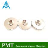 N52 de Magneet van de Ring van het Gat van Counterbore met Permanent Magnetisch Materiaal