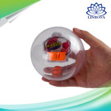 Mini jouets de jeu de pousse de basket-ball de paume de sport magique électronique avec la lumière et le son de musique