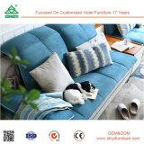 Sofa se pliant fonctionnel d'étage avec le tissu
