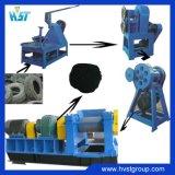 고품질 생산 라인을 재생하는 폐기물 타이어에 사용되는 고무 쇄석기 기계