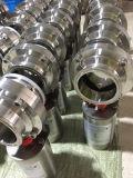Санитарная ровная клапан-бабочка Dn10-Dn300 с датчиком положения