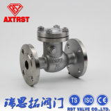 Classe 150/300 do ANSI da extremidade da flange de válvula da verificação do balanço do aço de molde