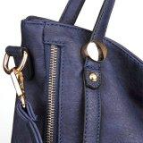 Bolsa clássica das mulheres do Tote da praia do saco de ombro do couro do projeto