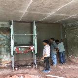 Mortier plâtrant la machine pour le mur