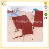 中国の印刷の工場との革ノートの印刷