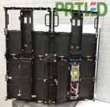 Innenkurve P3.91 LED-Bildschirm mit Winkel-Einsteller täfelt 500 * 500 mm/500 * 1000 mm