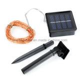 Il collegare di rame solare bianco caldo 50 illumina il LED