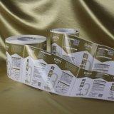 El color de la alta calidad imprimió la escritura de la etiqueta adhesiva de la etiqueta engomada