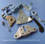 Pièce de plaque métallique personnalisée de matériel de feuille de qualité