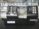 水平CNCの旋盤機械重いですか軽量旋盤機械