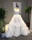 Шикарное платье венчания Princess Шарика Мантии Конструировать Bridal