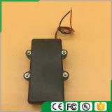 3AA impermeabilizan el sostenedor de batería con los terminales de componente, la cubierta y el interruptor rojos/negros de alambre