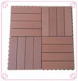 Tuiles chaudes de paquet de la vente DIY WPC de Baochu avec décoratif extérieur