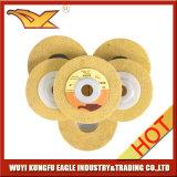 Roda de lustro de Kexin 100X12mm (amarelo, 120#)