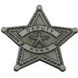의복 (XD-MD-02)를 위한 주문 금속 3 수 접어젖힌 옷깃 Pin