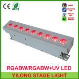 Nueva luz de la colada del color LED de la arandela 5in1 Rgabw de la pared que viene