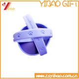 Bracelete colorido colorido da faixa do pulso do silicone da forma (YB-HR-9)