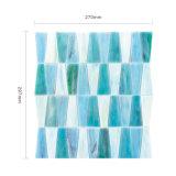Tamaño estándar de Aqua Suelo de azulejos de la piscina Mosaico de vidrio para baño