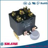 Relais électromagnétique de pouvoir de relais de ventilateur de haute énergie