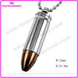 Collana Pendant dell'urna di cremazione del richiamo dei monili di modo per il supporto del Keepsake delle ceneri (IJD2063)