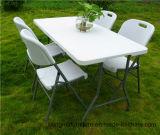 dobra de 180cm na meia tabela, tabela do jardim, tabela de cavalete resistente de 6FT
