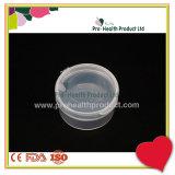 Contenitore rotondo di plastica libero/casella/cassa dei pp con il coperchio