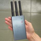 Krachtige Draagbare Blocker van het Signaal van Cellphone van 3 Antennes 3G