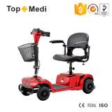 Topmedi Fácil desmontable discapacitados Potente cuatro ruedas Scooter eléctrico