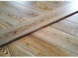 Белизна и настил золы Brown проектированный деревянный