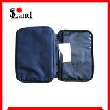 Pequeño bolso médico azul del rectángulo