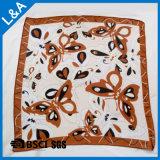 75 d-Polyester-Chiffon- quadratischer Schal
