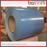 La tôle d'acier galvanisée enduite d'une première couche de peinture/couleur a enduit la bobine en acier