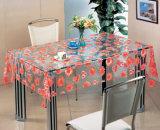Tablecloth impresso transparente do teste padrão do PVC do projeto novo (TT00284)