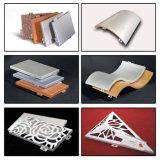 El panel de techo de aluminio de los materiales decorativos