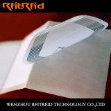 Escritura de la etiqueta frágil de aluminio entera pasiva de RFID