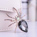[رهينستون] عنكبوت نمو مجوهرات دبوس الزينة