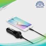 Ugreen 이중 USB 차 충전기 Qualcomm iPhone 7 Samsung Xiaomi 차 전화 충전기를 위한 빠른 책임 2.0 이동 전화 차 충전기