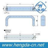 Yh9487 ручка шкафа нового сплава цинка формы конструкции u промышленная