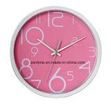 Pastel Colors 12 pouces à la mode décoration intérieure en plastique Wall Clock