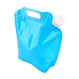sac compressible d'eau potable du pliage 3L/5L/8L pliable portatif extérieur